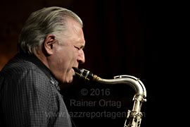 Jerry Bergonzi Quartett in Jazzkeller Esslingen am 25. November 2016